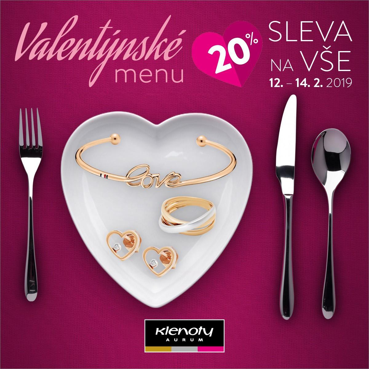 Galerie Prerov Valentynske Menu V Klenoty Aurum
